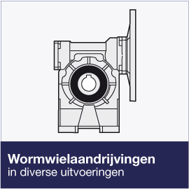 Meer over de wormwielreductoren